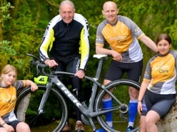 Sporting family prepares for epic cycling challenge