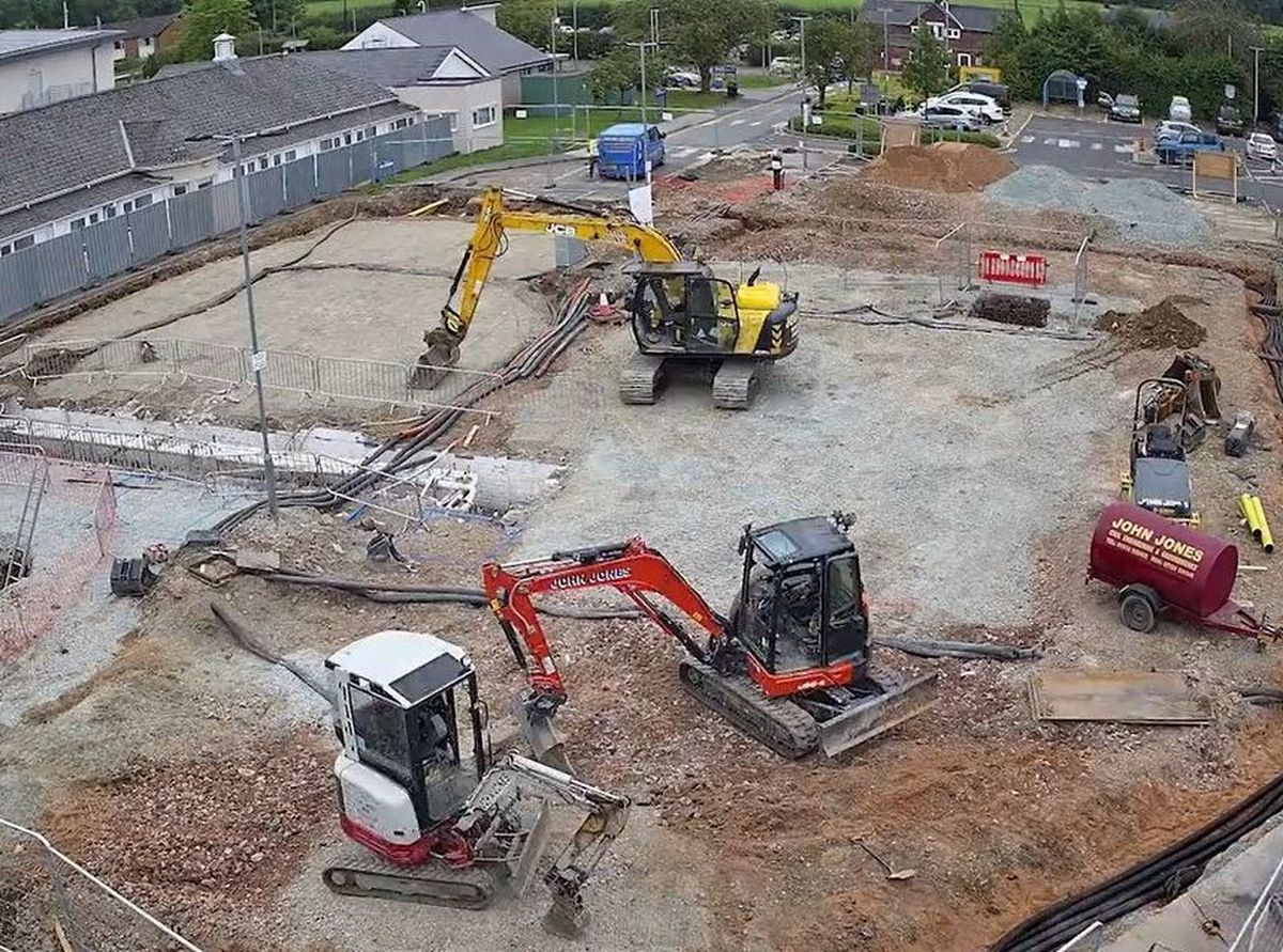 Building work to develop the new Headley Court Veterans' Orthopaedic Centre
