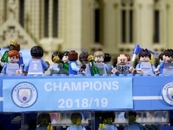 Manchester City treble parade immortalised in Lego form