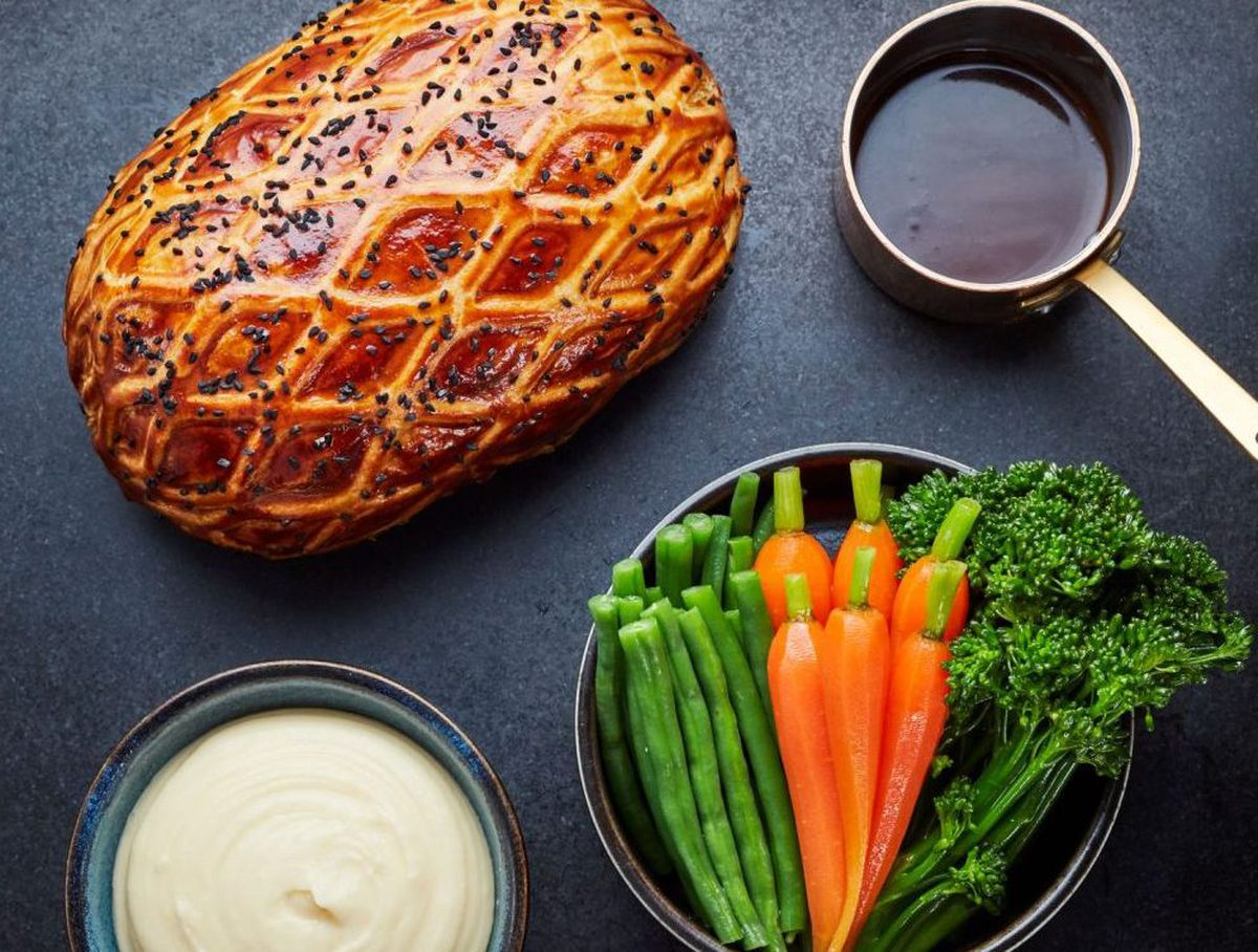 The Beef Wellington was sent with accurate, step-by-step instructions that helped cook it to perfection
