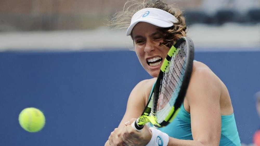 Johanna Konta crashes out of the US Open in first round