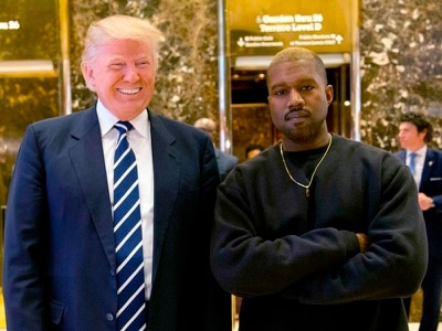 Donald Trump praises supporter Kanye West's good taste
