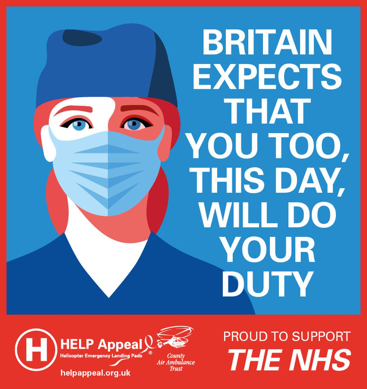One of the posters by the HELP Appeal
