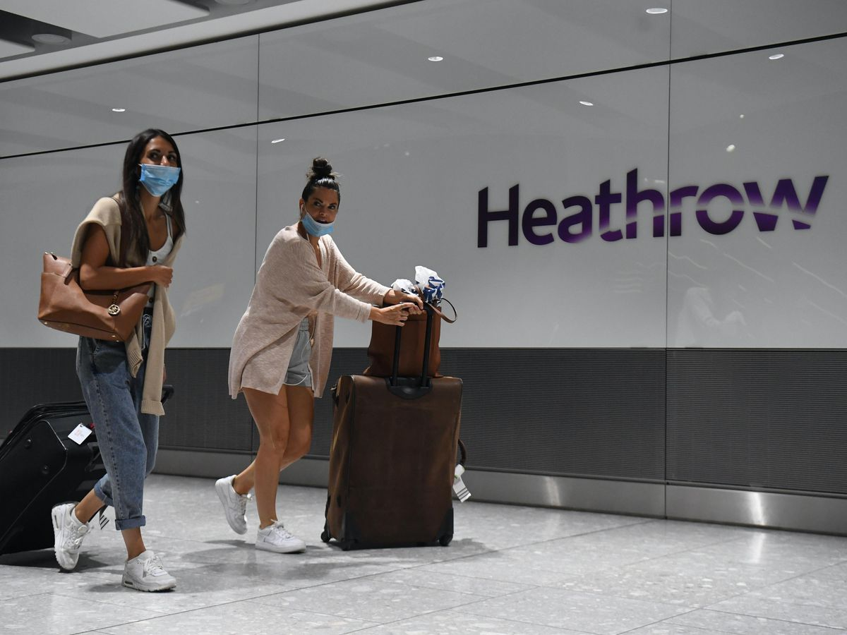 England is to start applying regional rather than country-wide quarantine rules, Transport Secretary Grant Shapps said