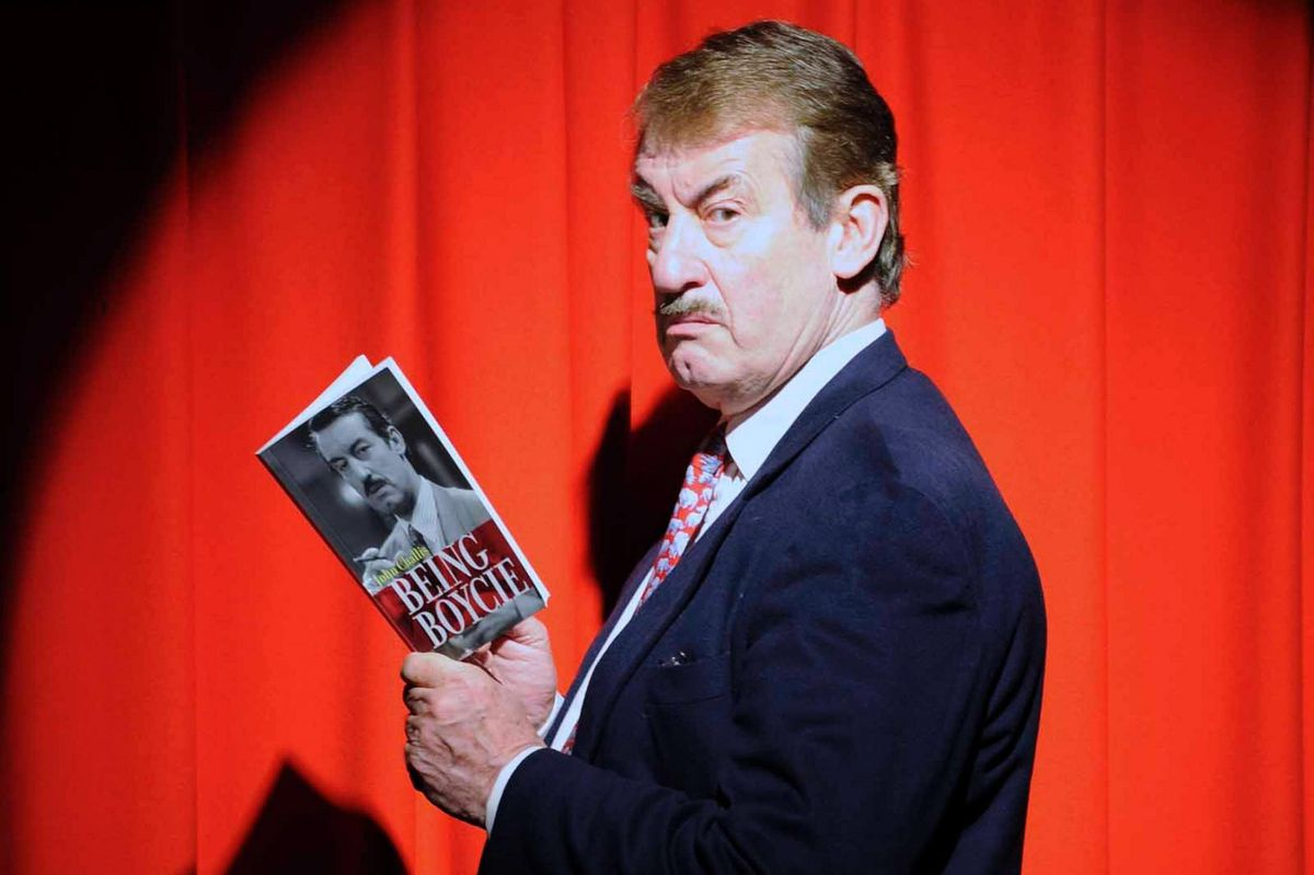 John Challis, known for his iconic portrayal of 'Boycie'.