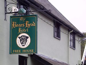 The Boars Head Hotel in Bishops Castle