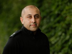 SHREWS COPYRIGHT SHROPSHIRE STAR JAMIE RICKETTS 07/06/2021 - Shrewsbury Police Station - New Shrewsbury Inspector Saf Ali..