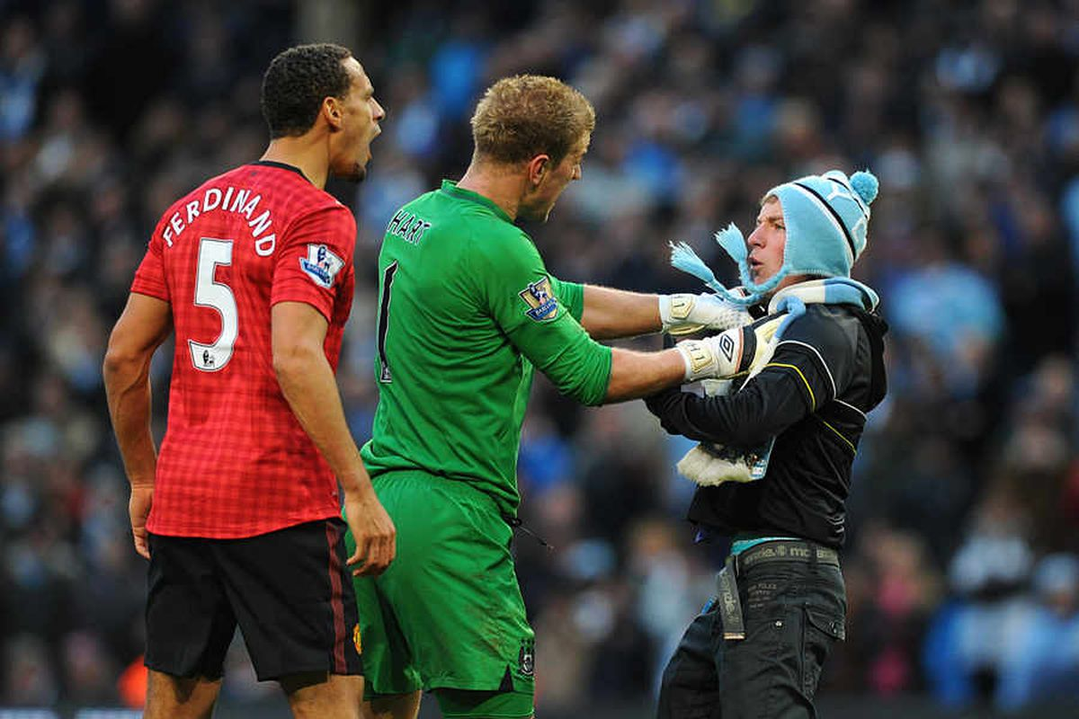 Derby thug thanks Joe Hart after Rio Ferdinand bust-up