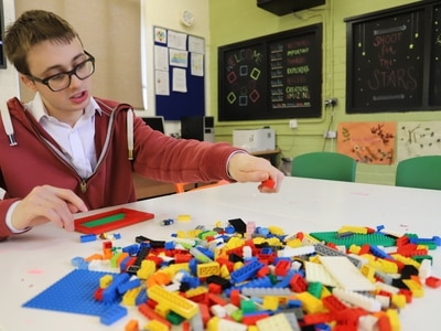 Lego therapy for autistic students