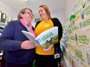 Clare Wheatley chats to Leah Morgan, of the Macmillan Living With and Beyond Cancer programme