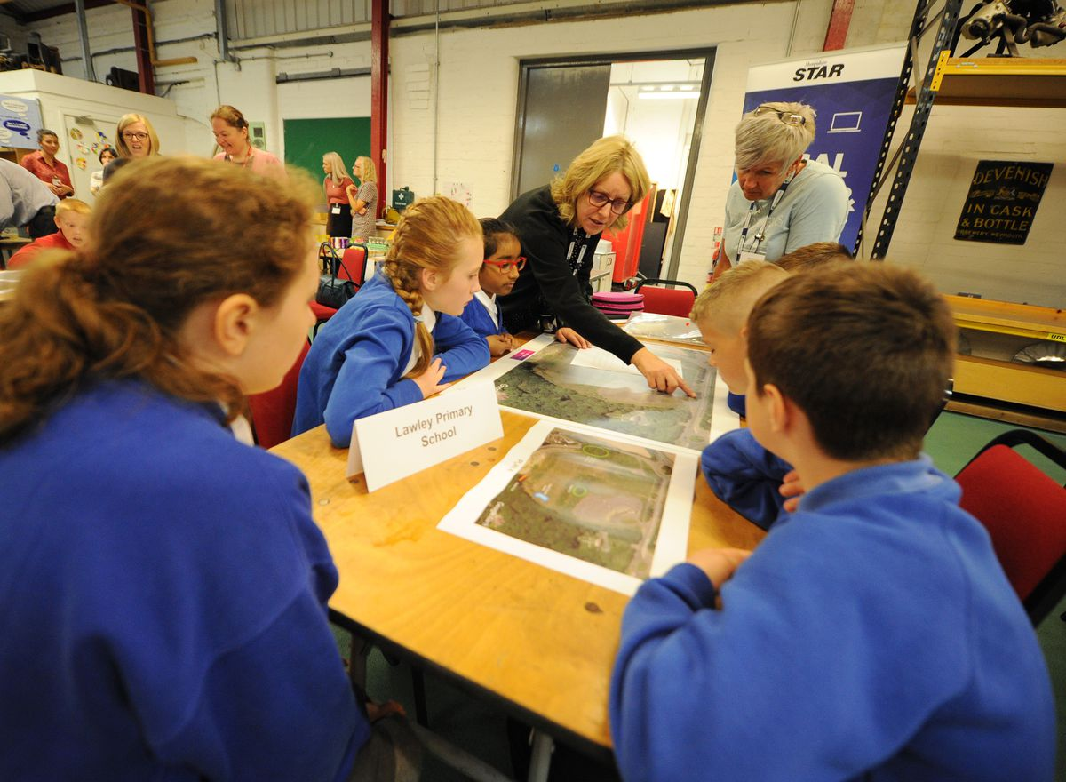 Lawley Primary School pupils take part