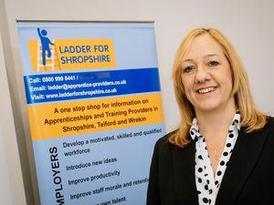 Amanda Carpenter, project lead for Ladder for Shropshire