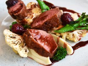 The Ugly Duckling, Long Lane ,Telford. The duck main course.