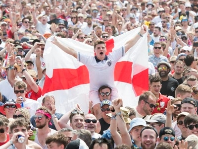 Isle of Wight Festival revellers enjoy England victory amid heatwave