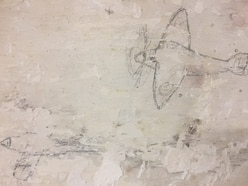 Wartime graffiti found at Shrewsbury Flaxmill Maltings