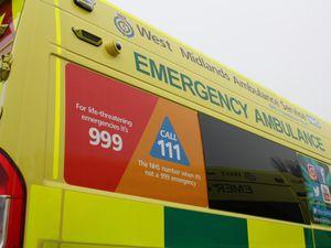 Casualty given oxygen after crash near Ellesmere