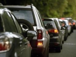 Crash causes big rush hour delays around Shrewsbury