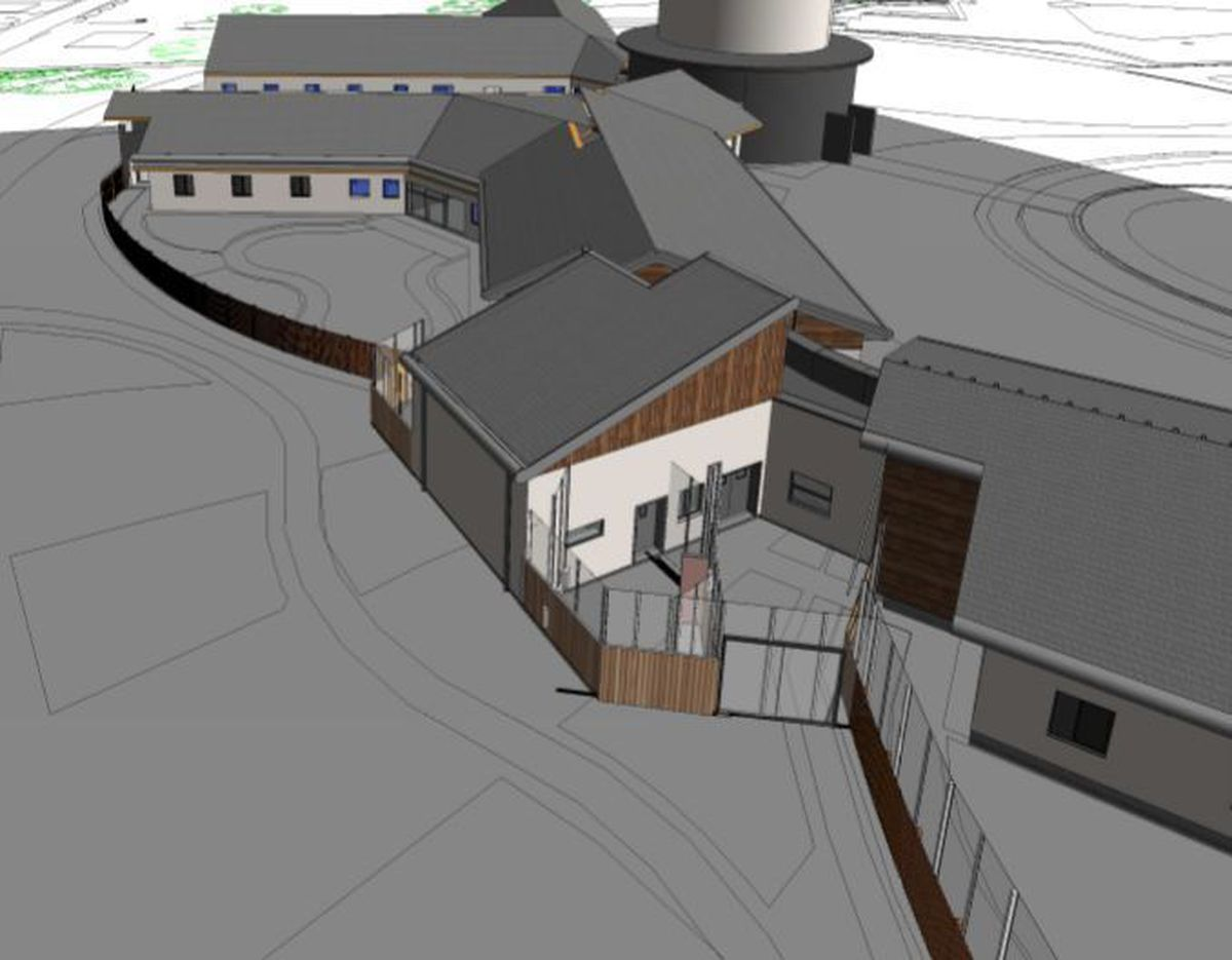 The proposed mental health seclusion facility. Picture: Gilling Dod Architects / Shropshire Council