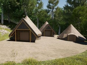 Proposed education facilities at Maddocks Hill Quarry, Little Wenlock, near Wellington. Picture: Base Architecture and Design Ltd / Tree-Ring Services Ltd