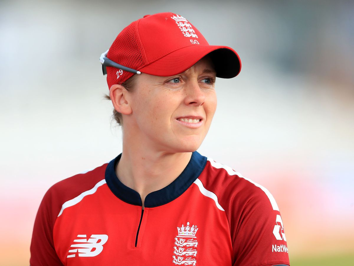 """England Women's captain Heather Knight said it would be """"strong message"""" for the team to go and play cricket in Pakistan this October"""