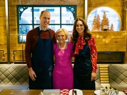 Kate reveals Mary Berry inspiration behind Prince Louis' first words