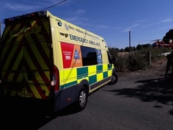 Man airlifted to hospital after industrial estate fall