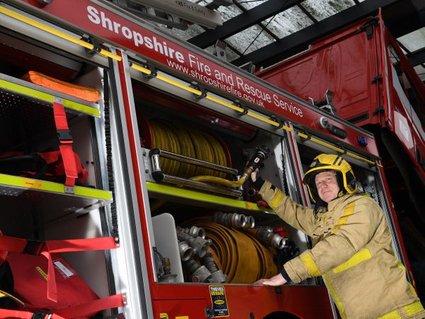 Shropshire Fire and Rescue Service could fall under the control of the West Mercia Police and Crime Commissioner