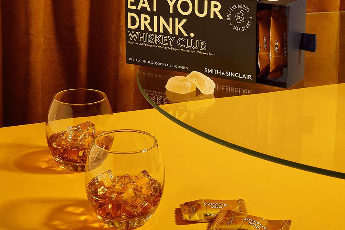 Smith & Sinclair Whiskey Club: Limited Edition Alcoholic Cocktail Gummies