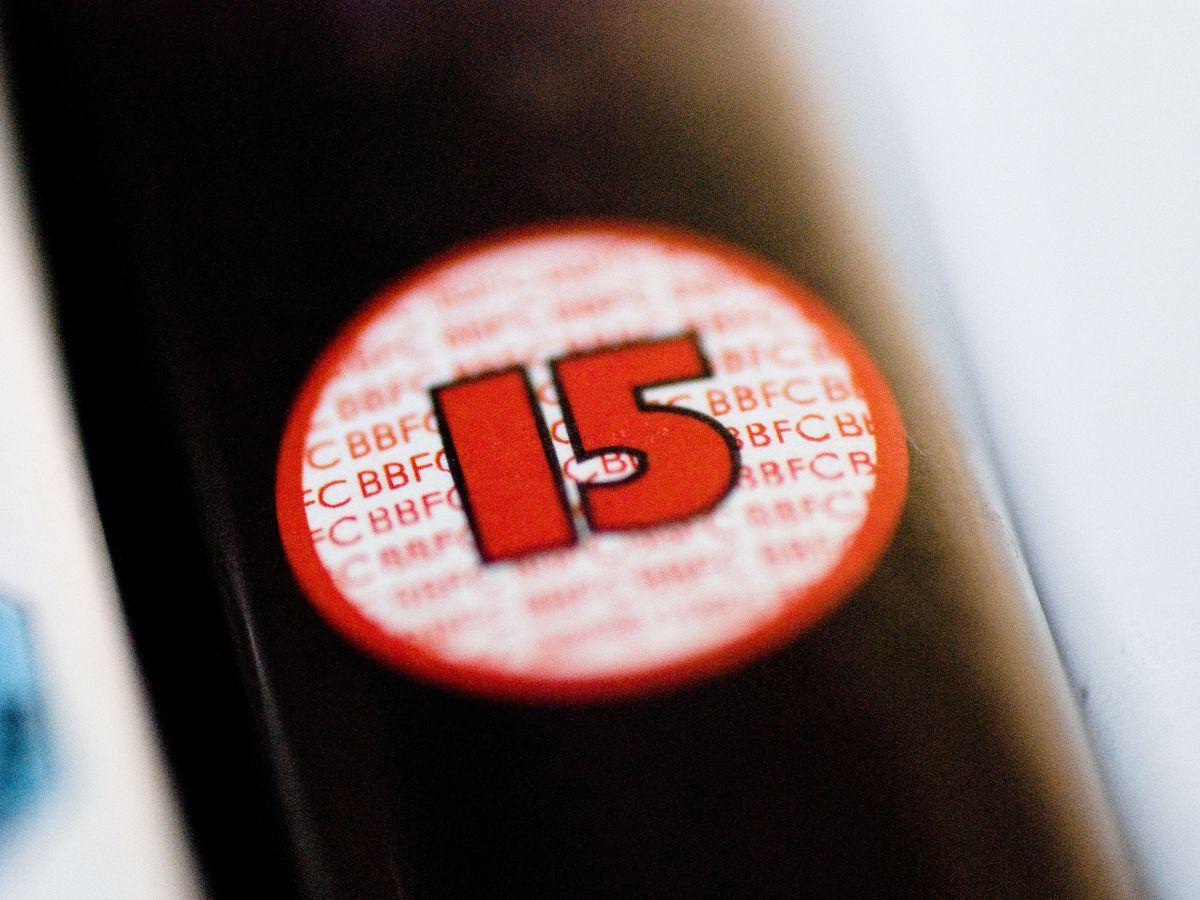 A 15 certificate film classification