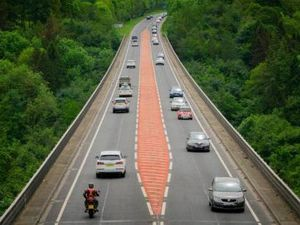 Part of the Chirk Bypass will be shut from 8pm for roadworks