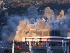 Watch Georgia Dome implode in just 15 seconds after 25 years of use