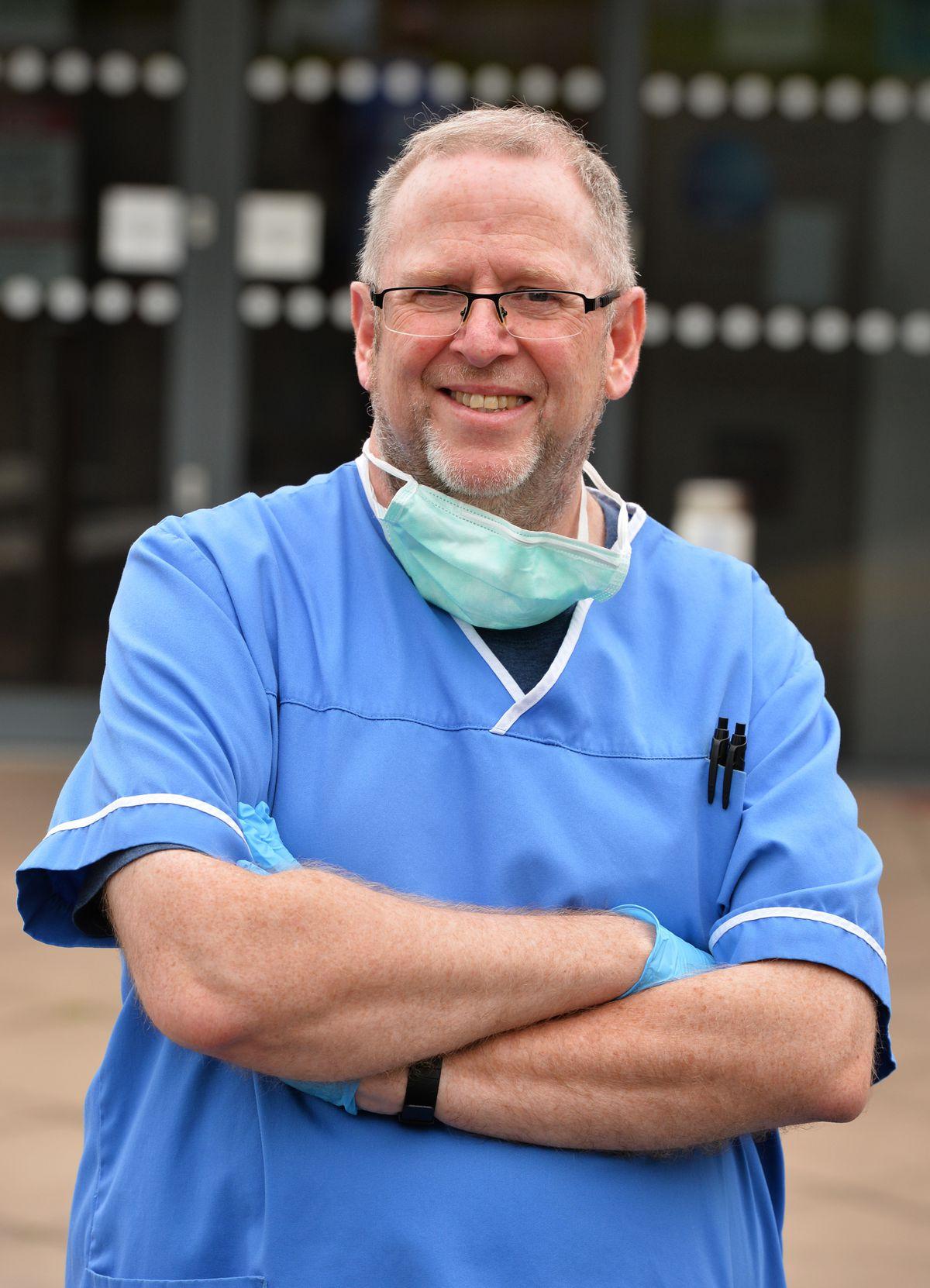 Pharmacist Nigel Dugmore, at Donnington Pharmacy