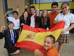 Viva Espana as Telford school welcomes Spanish students