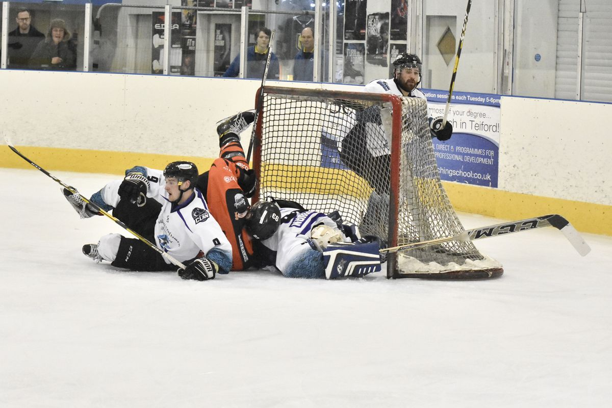 Doug Clarkson gets taken out in the Solway Net