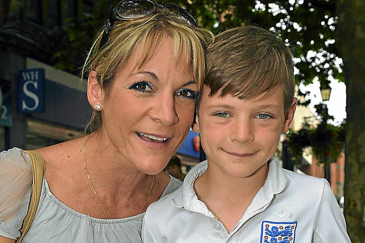 Amber Heath said her energetic son Ben, seven, is always on the move