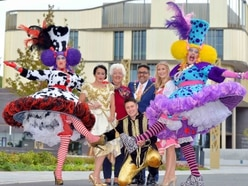 WATCH: Stars of Cinderella launch panto in Telford