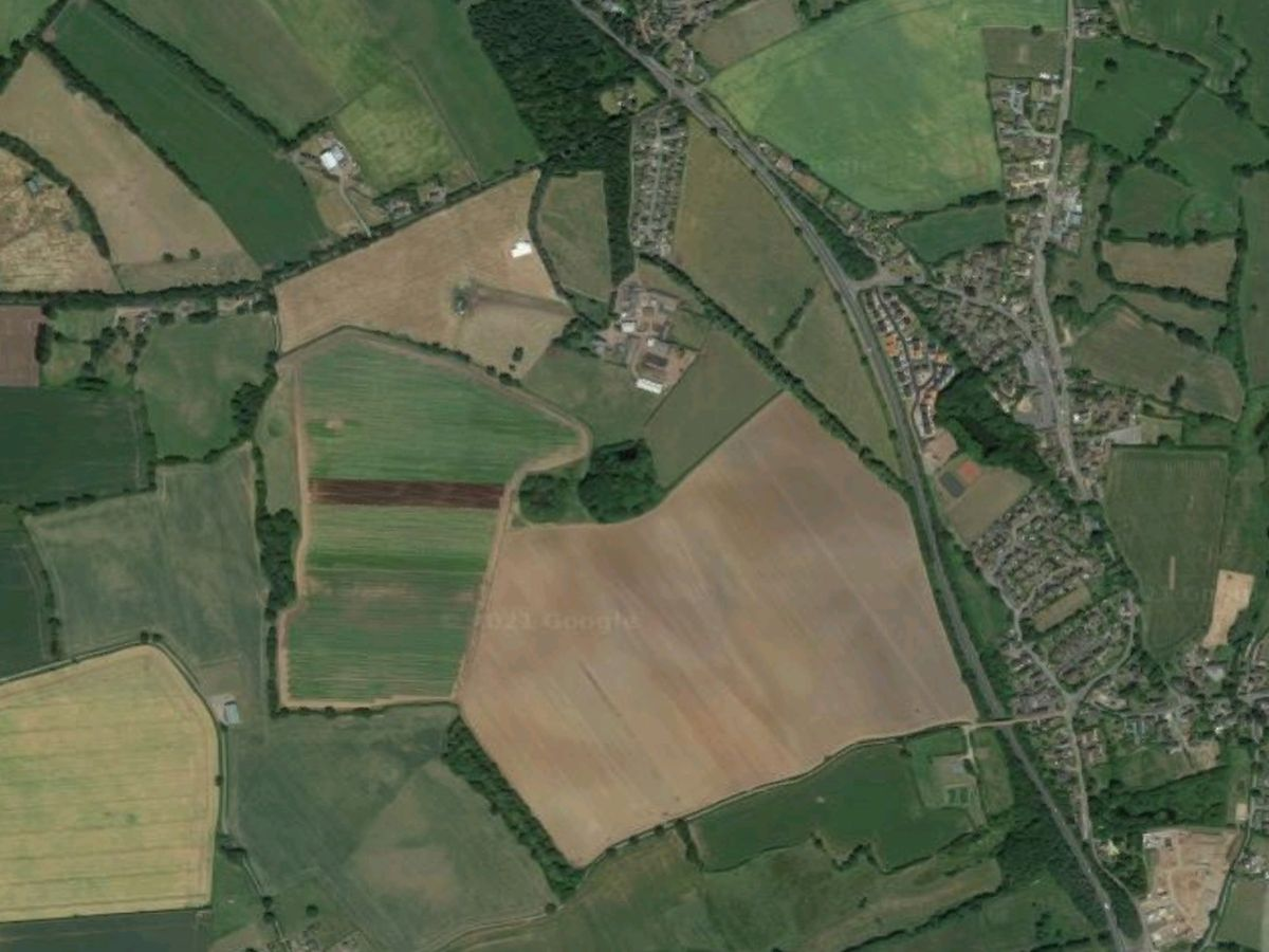 The crash happened on the A41, pictured. Photo: Google