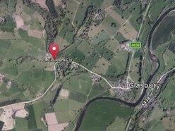 Land near Glasbury sold at a loss.