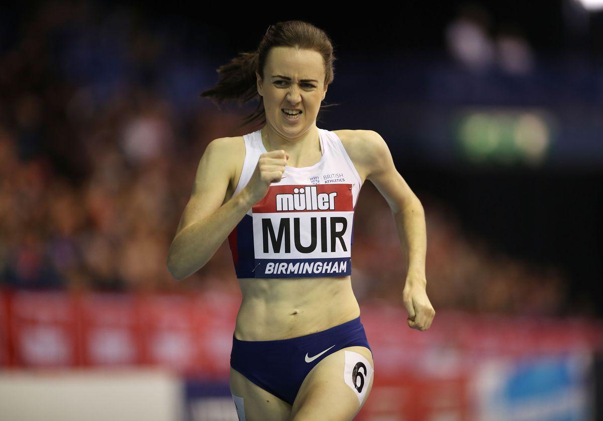 Britain's Laura Muir (PA)