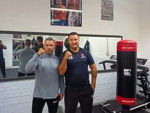 Roddy Doran, pictured right with his brother Joey, is opening a new gym