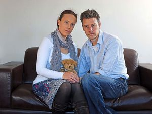 Rhiannon Davies and Richard Stanton, whose daughter Kate died in 2009