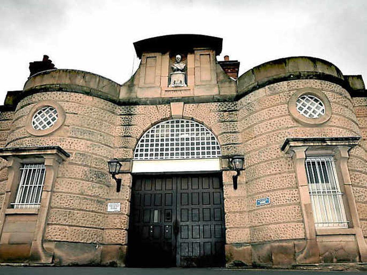 The former Dana Prison is near Shrewsbury's railway station