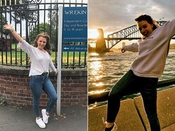 10,000-miles apart - but Telford twins share A-level results joy