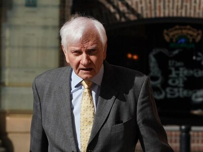 Harvey Proctor breaks down recalling 'wrong, horrendous' sex ring allegations