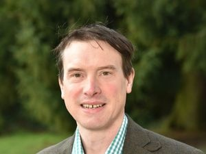 Shropshire Star farming column columnist Oliver Scott, who is farm manager at Bradford Estates.