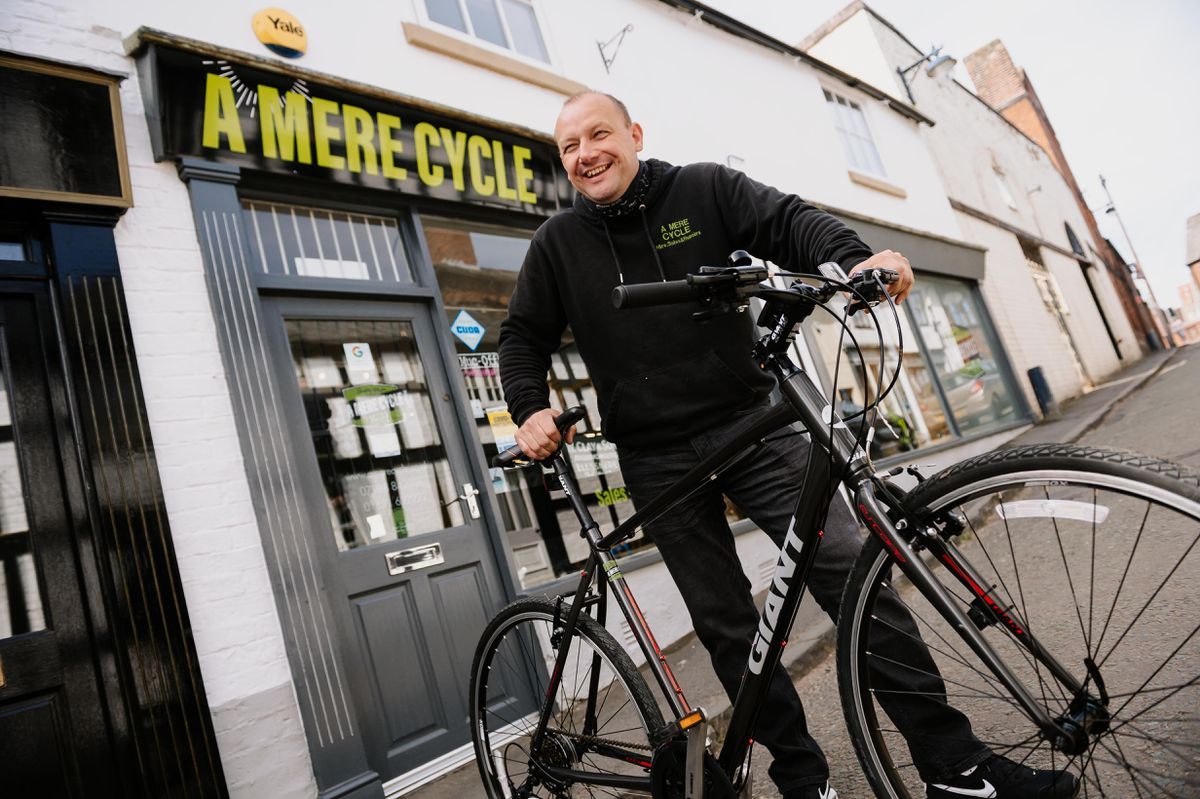 Rod Evans from A Mere Cycle in Ellesmere