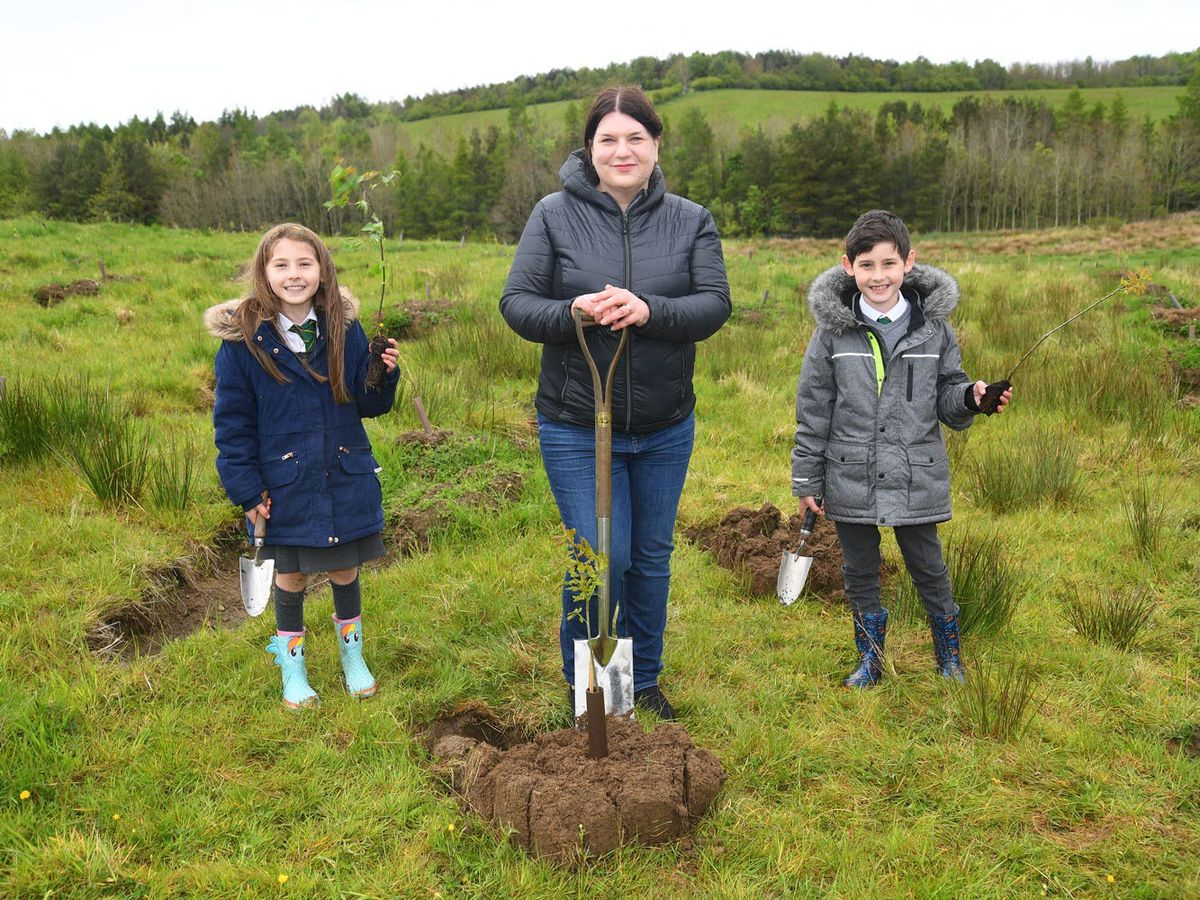 Glasgow City Council leader Susan Aitken at the inaugural tree planting