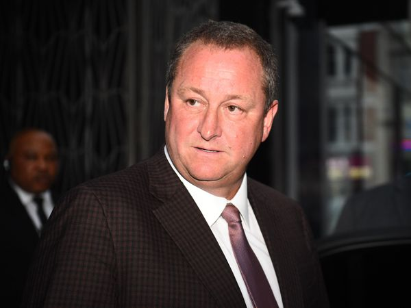 Frasers Group chief Mike Ashley
