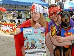 Kapow! Shrewsbury Comics Salopia a hit with fans