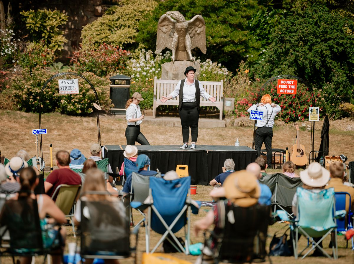 Open-air theatre proved a hit at Shrewsbury Castle in the summer of 2020
